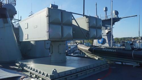 Sea Sparrow launcher