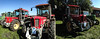 3x Schlüter (genelabo) Tags: widescreen panorama outdoor sun iphone stitching red rot schlüter bulldog traktor treffen puchheim heavy oldtimer