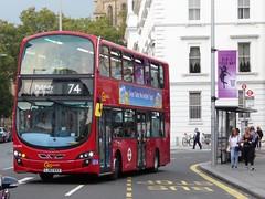 15 September 2016 South Kensington (3) (togetherthroughlife) Tags: 2016 september bus southkensington kensington wvl496 londongeneral 74 lj62kxx