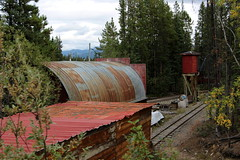 Copperbelt Railway (demeeschter) Tags: canada yukon territory whitehorse copperbelt railway mining museum attraction train ride industrial