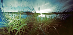 Town and Country (wheehamx) Tags: pinhole blend west kilbride ayrshire wide angle