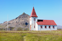 The Church at Laugarbrekka_4663 (hkoons) Tags: snaefellsnespeninsula christ church country iceland laugarbrekka architecture building countryside faith faithful island landscape modern north outdoors philosophy religion sect worship worshipers