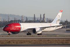 2016_09_24 KLAX stock-57 (jplphoto2) Tags: boeing787 jdlmultimedia jeremydwyerlindgren klax lax losangeles losangelesinternationalairport nas787 aircraft airplane airport aviation norwegian787