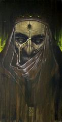 GASPAR acrilico 50 x 100 (emy mariani) Tags: art paint arte canvas horror pintura cuadros oscuridad