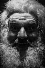 HO HO HO (Nervous Pete) Tags: santa christmas portrait lynch saint st 35mm eyes gallery floor sinister fear father nick evil nicholas madness third staring nega lynchian frightening d90 tfg f18g