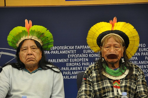 Opposing the Belo Monte dam in the Amazon