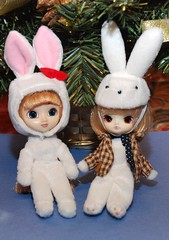 Little Leprotto & White Rabbit (<Gibraltar>) Tags: jouet littlepullip leprotto littledal