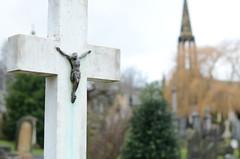 Christ (richard.heeks) Tags: church christ cross spire crucify crucified crucifixtion edgertoncemetery