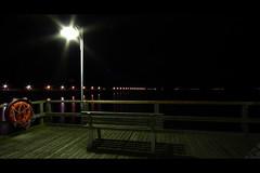 * (Henrik ohne d) Tags: ocean beach bench lights pier lifebelt jetty balticsea esplanade boardwalk rgen seebrcke efs1022mm ghren landingpier eos400d november2012