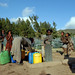 women which are benefited from the community service fetches water