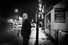 Stop! (Nick Lambert!) Tags: street blackandwhite bw scotland fuji stop streetscape prestwick ayrshire nicklambert fujix100