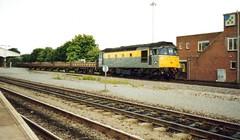 Westbury, 4th August 1992 (elkemasa) Tags: 1992 westbury class33