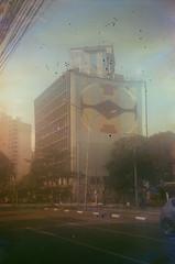 #349 ([ iany trisuzzi ]) Tags: brazil streetart film brasil analog 35mm sãopaulo sp olympustrip35 project365 fujifilmsuperiaxtra400 365days filmsoup