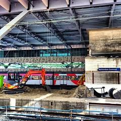 Renovation of the very busy #train... (A3No) Tags: netherlands train rotterdam nederland centraal teg photooftheday clubsocial lastsunday globalnomads ipopyou igsg igerspescara uploaded:by=flickstagram instagram:venue_name=stationrotterdamcentraal instagram:venue=1779213 bestestoftheday instatravel instagram:photo=2437472350927487982818061