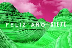 FELICITACIÓN DE SIE7E, crítica + humor + arte REALIZADA POR EL ARTISTA MIKHA-EZ