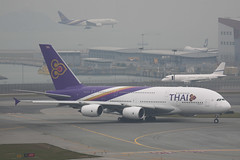 Thai Airways A380-841 (HS-TUB) (TFG Lau) Tags: star airbus a380 hkg tha thaiairways staralliance hkia vhhh a388 shalowan hstub ahkgap