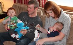 Jack, Zach, Susan & Ethan (blazer8696) Tags: usa zach bristol jack unitedstates susan connecticut ct ethan 2012 ecw jackm benstedcorner t2012