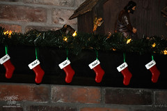 Christmas12-145 (TrishaLyn) Tags: christmas stockings oregon fireplace holidays elmira ornaments christmasdecorations holidaydecorations nativity mantle holidaydecor nativityscene