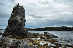 Atlantic Rock (M.Christine Duncan) Tags: travel canada newfoundland landscapes atlantic storms canadalandscapes leadingtickles canadianwomenphotographers