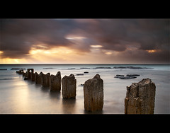 Stand In Line (AnthonyGinmanPhotography) Tags: posts blend coaldale coalcoast bwnd110 olympuse620 olympus1122mmf28