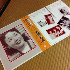 久々、実家Record。笠置シヅ子。