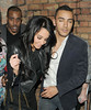 Tulisa Contostavlos and her new boyfriend Danny Simpson seen leaving The Rose Club