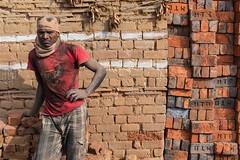 the brick maker (Dean Forbes) Tags: india karnataka migrant brickkiln brickmaker