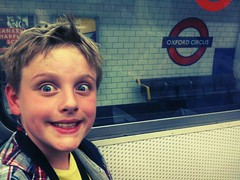 (slightly everything) Tags: uk boy england funnyface london face childhood train underground one funny europe tube blond messyhair oxfordcircus daytrip dayout age9 realpeople ©katehiscock chameleonfilterflickriosappfilterchameleonuploadedbyflickrmobile
