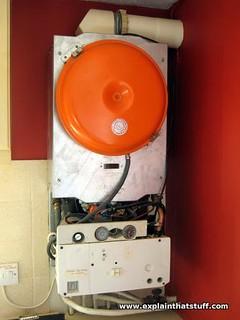 Gas boiler/furnace
