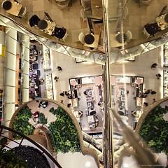 [interior] Q square (pooldodo) Tags: people reflection building coffee architecture 35mm shopping square store nikon interior taiwan sigma taipei q department hdr pooldodo taotzuchang