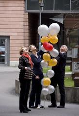 Hochfliegende Wnsche zu Neujahr (Maxbauer) Tags: leipzig sachsen neujahr luftballon wnsche neujahrswnsche