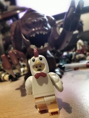 Why did the chicken cross the road? To escape the Rancor monster of course! (felt_tip_felon) Tags: