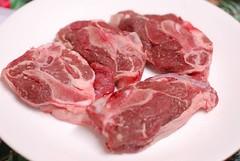 The sirloin lamb chops from Jeniff Chandlers farm (gadgetgeek) Tags: lamb shadybrookfarm