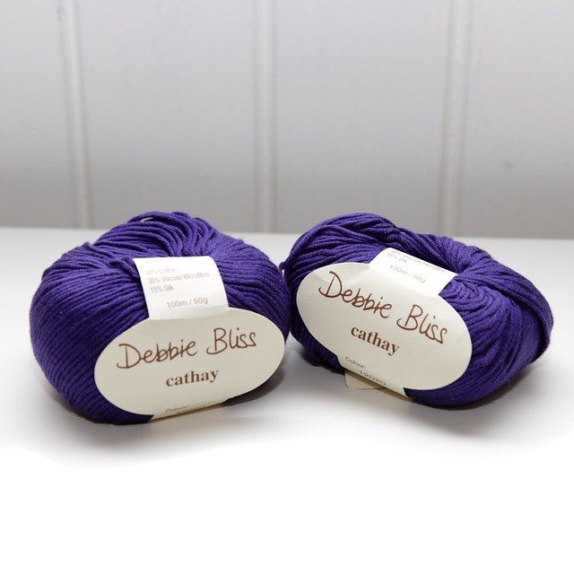Debbie Bliss Cathay yarn – 12020 royal blue
