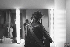 William Beckett (Adam DeAngelis) Tags: portrait blackandwhite bw reflection canon maryland 5d fillmore silverspring markii williambeckett billbeckett