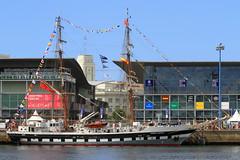 IMG_1616 (Paco Gonzlez1) Tags: puerto muelle corua barco cuttysark 2012 velero tallshipsrace trasatlantico