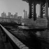 zig-zag (Barry Yanowitz) Tags: nyc newyorkcity bridge ny newyork 6x6 film brooklyn mediumformat downtown manhattan worldtradecenter bridges 120film d76 brooklynbridge manhattanbridge scanned wtc filmcamera nycity selfdeveloped 718 brooklynbridgepark adox adox25 rolleicordv 1worldtradecenter empirefultonferry selfdeveloping 1wtc d76developer mainstreetsection