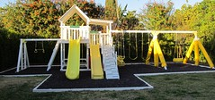 IMG_0764 (Swing Set Solutions) Tags: set play swings vinyl slide structure swing solutions playset polyvinyl