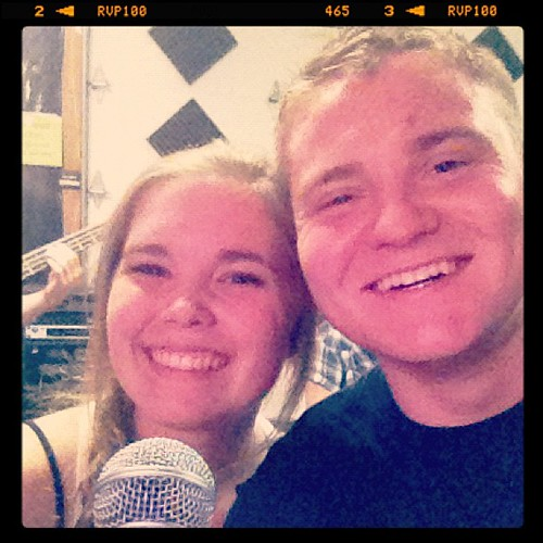 Rehersals with Molly!