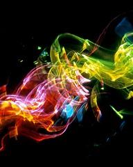 Light Waves 2 (Reciprocity) Tags: reciprocity refractograph light refraction diffraction lightart lightwaves lenslessphotography abstract caustics colours glass analogue experimentalphotography 35mmfilm photogram shadowgraph s23028 bs806 ls161