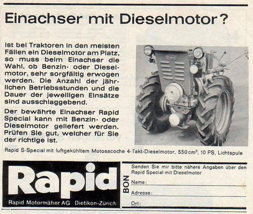 Rapid S Special Diesel