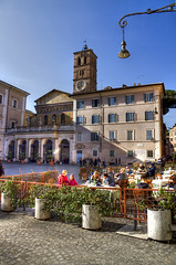 """piazza di Santa Maria in Trastevere • <a style=""""font-size:0.8em;"""" href=""""http://www.flickr.com/photos/89679026@N00/8437887196/"""" target=""""_blank"""">View on Flickr</a>"""