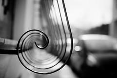 fibonaccoid (helen sotiriadis) Tags: street city cars window architecture canon spiral published dof bokeh rail athens depthoffield greece fibonacci mets canonef50mmf14usm canoneos6d ayearofpictures2013