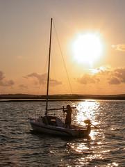 DSCN1973 - edited (lignesbois) Tags: sunset coucher soleil bassin arcachon aquitaine gironde bateau 4500 nikon
