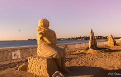 SSS_0234 (Sam 8899) Tags: sand sculpture beach sunrise morning light sky sea color