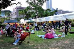Esplanade Festival Village (chooyutshing) Tags: esplanadefestivalvillage esplanadewaterfront lalllalang marinabay singapore
