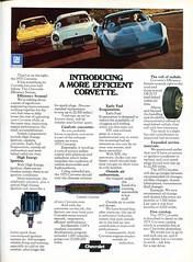 1975 Chevrolet Corvette Advertising Road & Track December 1974 (SenseiAlan) Tags: 1975 chevrolet corvette advertising road track december 1974