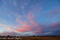 Good Morning Colorado (dcstep) Tags: f4a0143dxo cherrycreekstatepark colorado usa clouds pinkclouds bluesky sky predawn canon5dsr ef14mmf28lii handheld allrightsreserved copyright2016davidcstephens dxoopticspro111