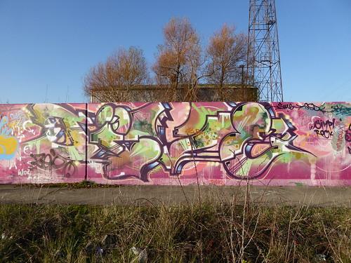 Jive graffiti, Lakeside