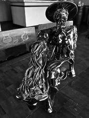 Sancho (valeriaatorres) Tags: quijote escultura diseo saltillo mxico decoracion interior iphonography